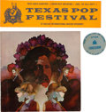 Music Memorabilia:Memorabilia, Texas International Pop Festival Memorabilia Group (1969)....(Total: 3 Items)