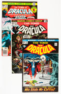 Bronze Age (1970-1979):Horror, Tomb of Dracula Group (Marvel, 1972-79) Condition: Average VF-....(Total: 65 Comic Books)