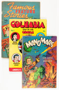 Golden Age (1938-1955):Miscellaneous, Comic Books Assorted Golden Age Comics Group (Various Publishers, 1930s-'50s) Condition: Average VG-.... (Total: 18 Comic Books)