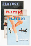 Magazines:Miscellaneous, Playboy 1950s Group (HMH Publishing, 1957-59) Condition: AverageFN.... (Total: 18 Items)