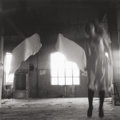 Photographs, FRANCESCA WOODMAN (American, 1958-1981). Untitled, from Angel Series, Rome, 1977-78. Gelatin silver, Estate print . 3-1/...