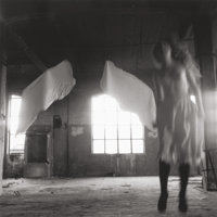 FRANCESCA WOODMAN (American, 1958-1981) Untitled, from Angel Series, Rome, 1977-78 Gelatin silver, E