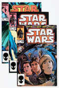 Modern Age (1980-Present):Science Fiction, Star Wars Group (Marvel, 1979-86) Condition: Average VF.... (Total:54 Comic Books)