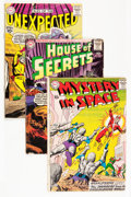 Silver Age (1956-1969):Horror, House of Mystery/Mystery in Space/Tales of the Unexpected Group(DC, 1960s) Condition: Average GD.... (Total: 28 Comic Books)