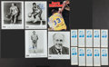 Basketball Collectibles:Photos, Collection of Signed Basketball Greats Photos & Business CardsOver 100 Autographs. ...