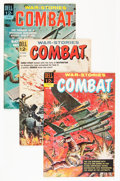 Silver Age (1956-1969):War, Combat File Copies Group (Dell, 1961-73) Condition: Average VF/NM.... (Total: 31 Comic Books)