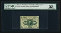 Fractional Currency:First Issue, Fr. 1242 10¢ First Issue PMG About Uncirculated 55.. ...