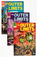Silver Age (1956-1969):Science Fiction, Outer Limits File Copies Group (Dell, 1964-69) Condition: Average VF+.... (Total: 33 Comic Books)
