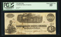 Confederate Notes:1862 Issues, T40 $100 1862 PF-1 Cr. 298. . ...