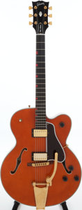 Musical Instruments:Electric Guitars, 1989 Gibson Chet Atkins Country Gentleman Orange Semi-Hollow BodyElectric Guitar, Serial # 82849607....
