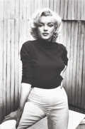 Photographs, ALFRED EISENSTAEDT (American, 1898-1995). Marilyn Monroe, Hollywood for LIFE, 1953. Gelatin silver, printed later. 13 x ...