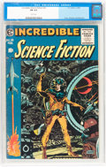 Golden Age (1938-1955):Science Fiction, Incredible Science Fiction #33 (EC, 1956) CGC FN 6.0 Whitepages....