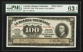 Canadian Currency: , Quebec, PQ- La Banque Nationale $100 Nov. 2, 1922 Ch. # 510-22-10S....