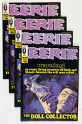 Magazines:Horror, Eerie #15 Group (Warren, 1968) Condition: Average VF-.... (Total: 4Comic Books)