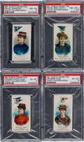 """Non-Sport Cards:Sets, 1889 N91 Duke """"Yacht Colors of the World"""" Near Set (45/50). ..."""