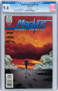 Modern Age (1980-Present):Science Fiction, Magnus Robot Fighter #64 (Valiant, 1996) CGC NM/MT 9.8 Whitepages....