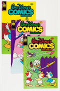 Modern Age (1980-Present):Cartoon Character, Walt Disney's Comics and Stories Group (Whitman, 1981-84) Condition: Average NM-.... (Total: 12 Comic Books)