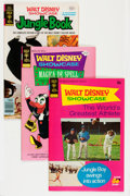 Bronze Age (1970-1979):Cartoon Character, Walt Disney Showcase Group (Gold Key, 1972-80) Condition: AverageVF/NM.... (Total: 14 Comic Books)