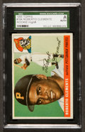 Baseball Cards:Singles (1950-1959), 1955 Topps Roberto Clemente #164 SGC Authentic. ...