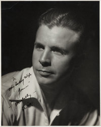 A Dick Powell Signed Black and White Photograph (c. 1930s)