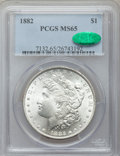 Morgan Dollars, 1882 $1 MS65 PCGS. CAC....