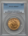 Liberty Eagles, 1900 $10 MS64+ PCGS....