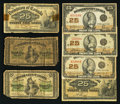 Canadian Currency: , About Shinplasters - 1870; 1900; and 1923.. ... (Total: 7 notes)
