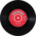 "Music Memorabilia:Props, Beatles ""Please Please Me""/ ""Ask My Why"" UK Single (Parlophone 4983, 1963)...."