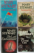 Books:Science Fiction & Fantasy, Mary Stewart. The Merlin Chronicles. Group of Four First Edition, First Printing Books. Hodder & Stoughton, ... (Total: 4 Items)