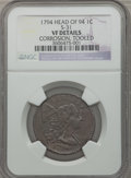 Large Cents, 1794 1C Head of 1794 -- Tooled, Corrosion -- NGC Details. VF. S-31.PCGS Population (55/354). Numismedi...