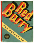 Books:Miscellaneous, Big Little Book Red Barry Ace Detective #1157 (Whitman, 1935)Condition: FN....