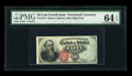Fractional Currency:Fourth Issue, Fr. 1376 50c Fourth Issue Stanton PMG Choice Uncirculated 64 EPQ....