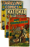 Golden Age (1938-1955):Miscellaneous, Miscellaneous Golden Age Group (Various Publishers, 1940s). Condition: Poor... (Total: 16 Comic Books)