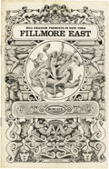 Music Memorabilia:Memorabilia, Mountain Fillmore East Program (1969). Also featuring the SteveMiller Blues Band, Steve Baron Quartet, and Joshua Light Sh...(Total: 1 Item)