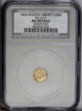 California Fractional Gold: , 1864 50C Liberty Round 50 Cents, BG-1016, R.5--Scratched--NCS, AUDetails. PCGS Population (5/61). (#1...