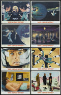 """Movie Posters:Science Fiction, 2001: A Space Odyssey (MGM, 1968). Lobby Card Set of 8 (11"""" X 14"""").Science Fiction. Directed by Stanley Kubrick. Starring K... (Total:8 Items)"""