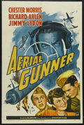 "Movie Posters:War, Aerial Gunner (Paramount, 1943). One Sheet (27"" X 41"") Style A.War. Starring Chester Morris, Richard Arlen, Lita Ward, Jimm..."