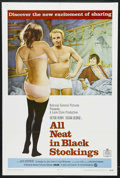 """Movie Posters:Comedy, All Neat in Black Stockings (National General, 1969). One Sheet (27"""" X 41""""). Drama. Starring Victor Henry, Susan George, Jac..."""