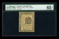 Colonial Notes:Delaware, Delaware May 1, 1777 6d PMG Gem Uncirculated 65 EPQ....
