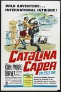 "Movie Posters:Mystery, Catalina Caper (Crown-International, 1967). One Sheet (27"" X 41"").Musical Comedy/Mystery. Starring Tommy Kirk, Del Moore, P..."