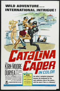 "Catalina Caper (Crown-International, 1967). One Sheet (27"" X 41""). Musical Comedy/Mystery. Starring Tommy Kirk..."