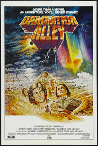 """Damnation Alley (20th Century Fox, 1977). One Sheet (27"""" X 41""""). Science Fiction. Starring Jan-Michael Vincent..."""