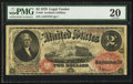 Large Size:Legal Tender Notes, Fr. 49 $2 1878 Legal Tender PMG Very Fine 20.. ...