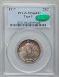 Standing Liberty Quarters, 1917 25C Type One MS66 Full Head PCGS. CAC....