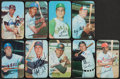 Baseball Cards:Autographs, 1970 Topps Super Signed Cards Lot of 9....