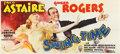 "Movie Posters:Musical, Swing Time (RKO, 1936). 24 Sheet (104"" X 232"").. ..."