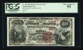 National Bank Notes:Maine, Rockland, ME - $10 1882 Brown Back Fr. 488 The North NB Ch. #(N)2371. ...