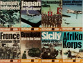 Books:World History, [World War II]. Ballantine's Illustrated History of World War II, Campaign Book Series. Group of 8 volumes in publisher's wr...
