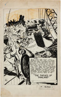 "Original Comic Art:Complete Story, John Dell (attributed) Boy Heroes #1 Complete Unpublished 10 PageStory ""The Thieves of Thailand"" Original Art (Harvey, c. 194...(Total: 10 Original Art)"