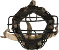 Baseball Collectibles:Uniforms, 1979 Thurman Munson Game Worn Catcher's Mask....
